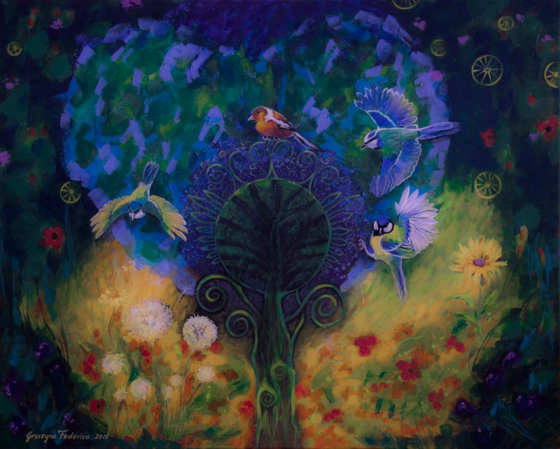 The magic garden - Grazyna Federico