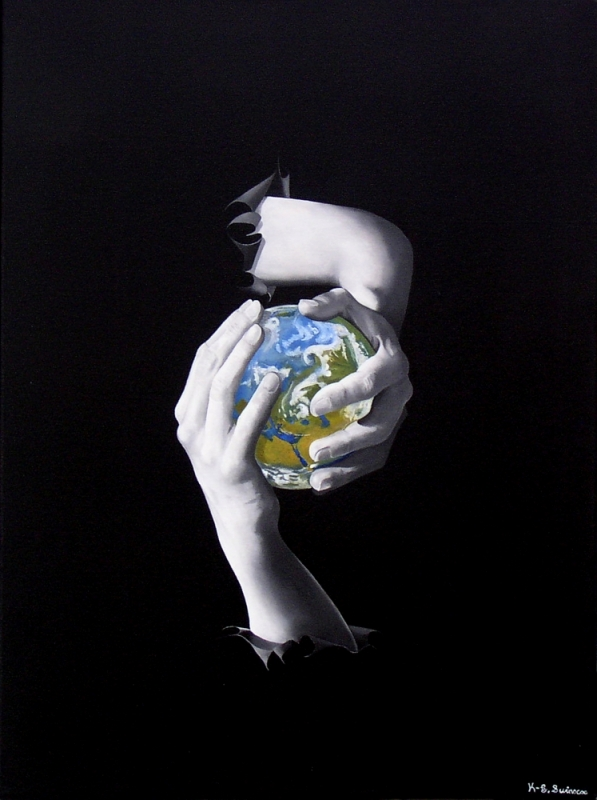 The world in your hands or Conflict (2008) - Kenneth-Edward Swinscoe
